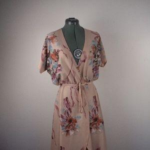 Vintage wrapped dress